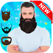 Photo Montage Beard Maker icon