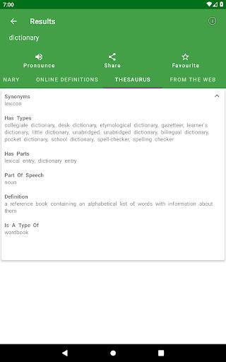 Sinhala Dictionary Offline 11 تصوير الشاشة