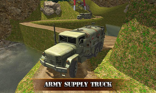 US OffRoad Army Truck driver 2020 screenshot 4