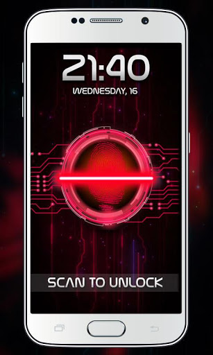 Fingerprint Lock Prank screenshot 3