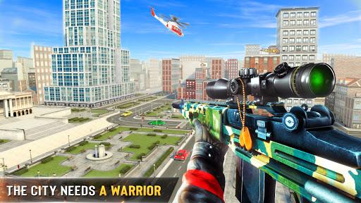 नया निशानची बंदूक खेल 2020 - शूटिंग खेल स्क्रीनशॉट 2