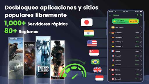 3X VPN - Navega con seguridad, Boost screenshot 1