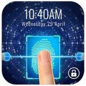 Layar kunci gaya sidik jari untuk bersenang-senang on 9Apps
