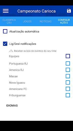 Brasileirão 2020 - Futebol screenshot 4
