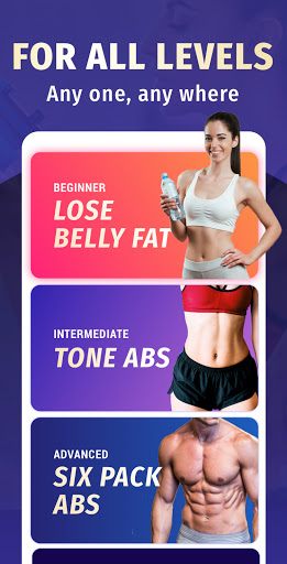 Lose Belly Fat at Home - Lose Weight Flat Stomach screenshot 1