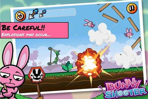 Bunny Shooter Free Funny Archery Game screenshot 2