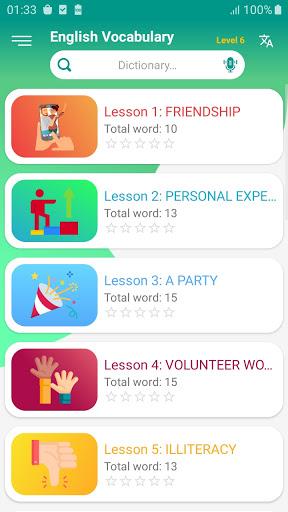 English vocabulary daily screenshot 6