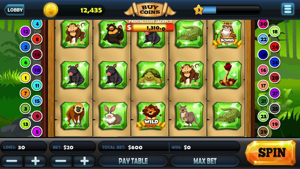 Mega Lucky Win Vegas Slots 1 تصوير الشاشة