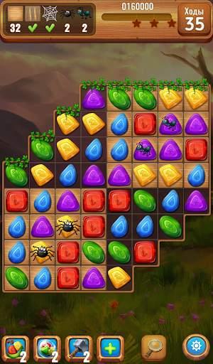 Самоцветы или кристаллы ?  Три в ряд screenshot 5