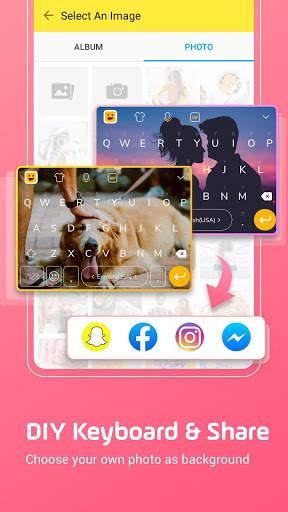 Facemoji Emoji Keyboard:DIY, Emoji, Keyboard Theme screenshot 2