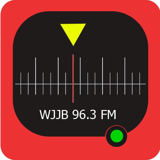 96.3 FM Big Jab WJJB Radio Station أيقونة