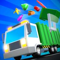 Garbage Truck 3D!!! on 9Apps