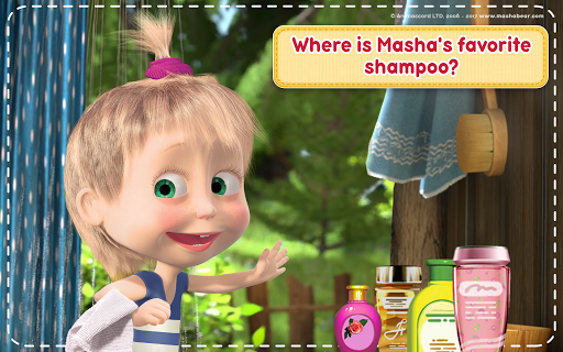 Masha and the Bear: House Cleaning Games for Girls screenshot 20