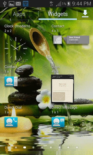 Bamboo Water Live Wallpaper 3 تصوير الشاشة