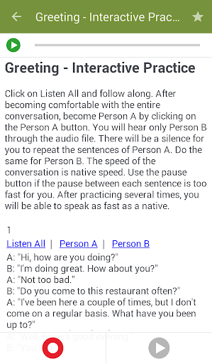 تعلم تحدث الانجليزية 4 تصوير الشاشة