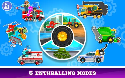 Kids Cars Games! Build a car and truck wash! screenshot 8
