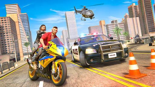 Theft Bike Drift Racing screenshot 1