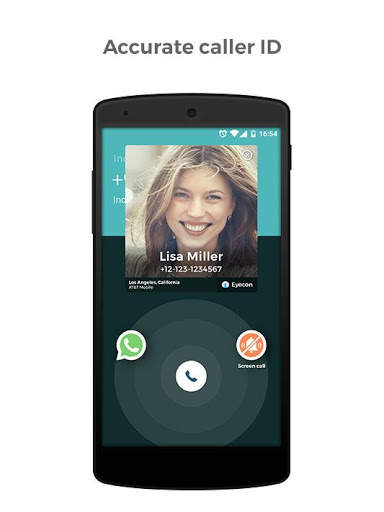 Eyecon: Caller ID, Calls and Phone Contacts screenshot 2