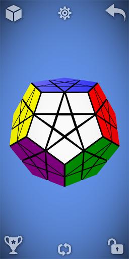 Magic Cube Puzzle 3D 3 تصوير الشاشة