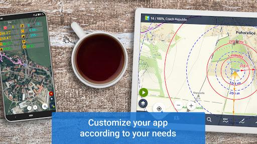 Locus Map 4: Hiking&Biking GPS navigation and Maps screenshot 14