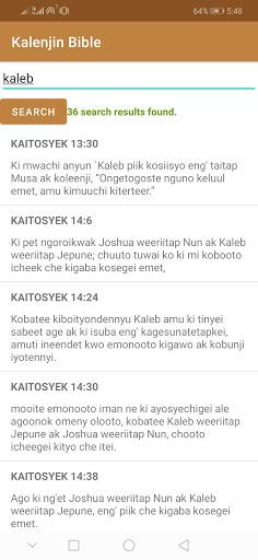 Kalenjin Bible - Old and New Testament 5 تصوير الشاشة