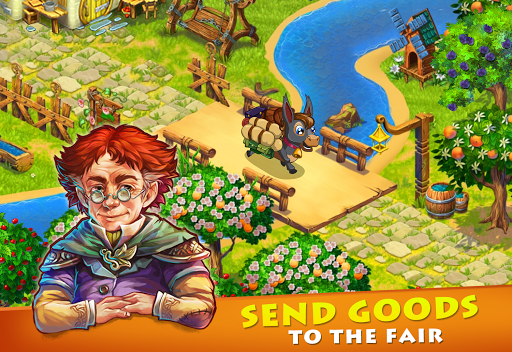 Farmdale: farming games & township with villagers screenshot 9