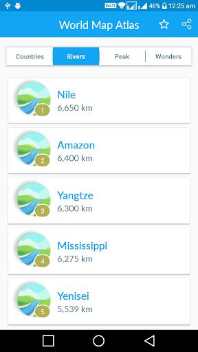 Offline World Map screenshot 2
