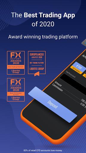 Libertex: Trade in Stocks, Forex, Indices & Crypto screenshot 2