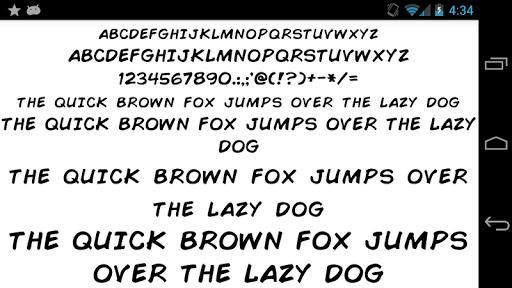 Fonts for FlipFont 50 Written screenshot 5