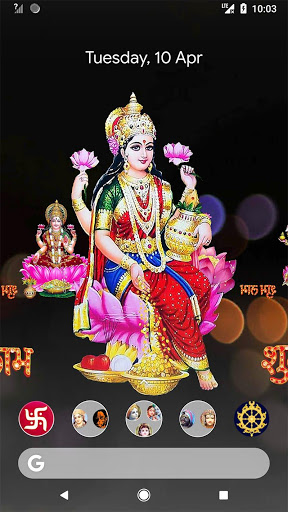 4D Lakshmi Live Wallpaper 10 تصوير الشاشة