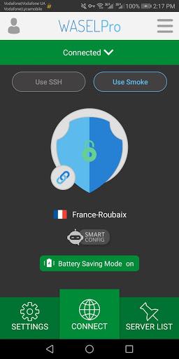 VPN WASEL Pro screenshot 1