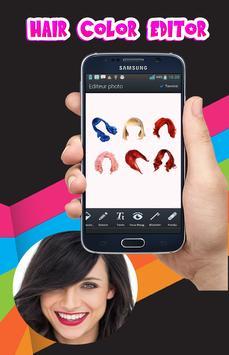 Hair color changing app screenshot 3