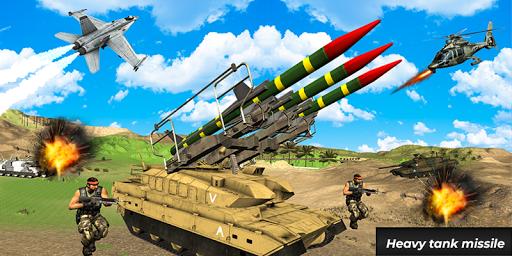 Ultimate Missile War WW2- Missile Combat 2019 screenshot 2