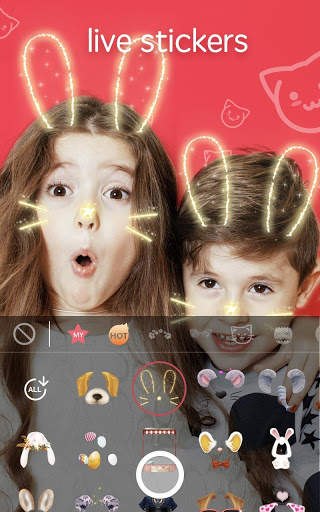 Sweet Snap - Beauty Selfie Camera & Face Filter 1 تصوير الشاشة