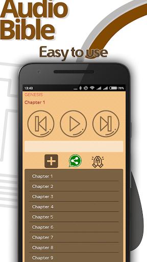 The Holy Bible in Audio MP3 3 تصوير الشاشة