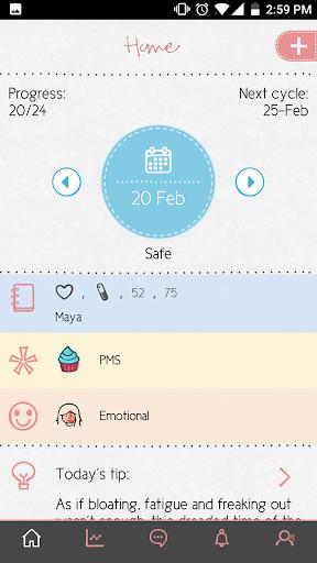Maya - Period, Fertility, Ovulation & Pregnancy screenshot 6