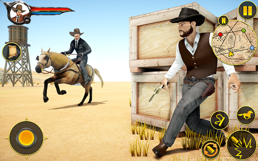 Cowboy Horse Riding Simulation screenshot 4