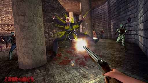 Zombie Waves 3D 2 تصوير الشاشة