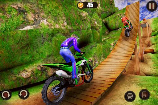 Impossible Bike Stunt Master 3D - New Moto Bike 4 تصوير الشاشة
