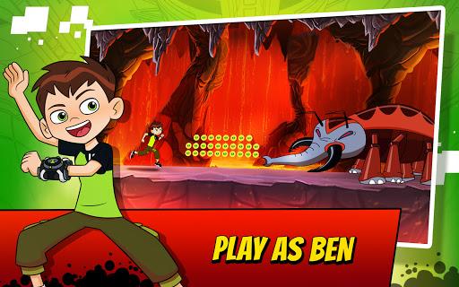 Ben 10 Alien Run 11 تصوير الشاشة