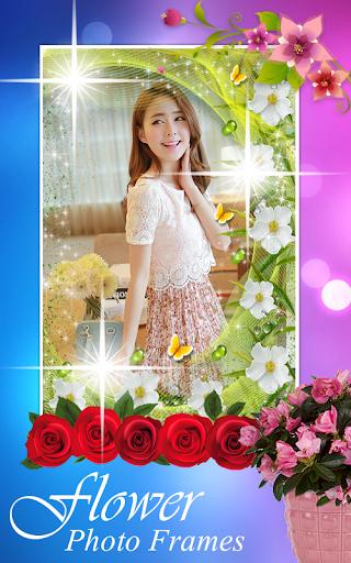 กรอบรูปดอกไม้ กรอบรูป แต่งรูป скриншот 5