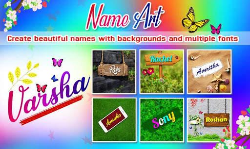 Name Art Photo Editor - 7Arts Focus n Filter 2020 screenshot 2