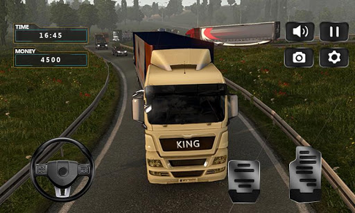 Realistic Truck Simulator 2019 screenshot 1