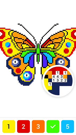 Draw.ly - Color by Number Pixel Art Magic Coloring screenshot 6