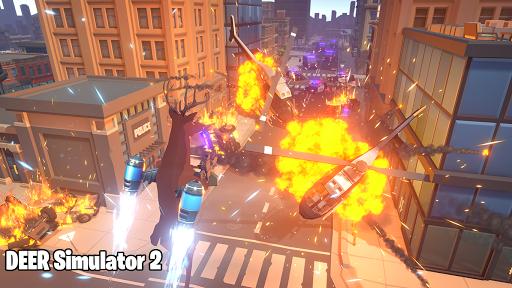 Deer Simulator 2 Game - Hero Gangster Crime City screenshot 4