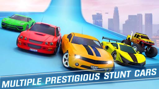Ramp Car Stunts Racing - Free New Car Games 2021 screenshot 5
