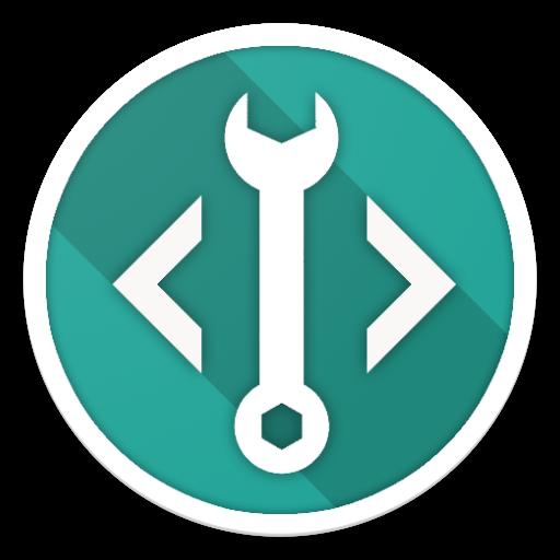 Developer (Material design) icon