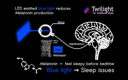 Twilight 🌅 Blue light filter for better sleep 13 تصوير الشاشة