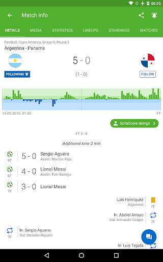 Football Scores and Sports Livescore - SofaScore screenshot 8