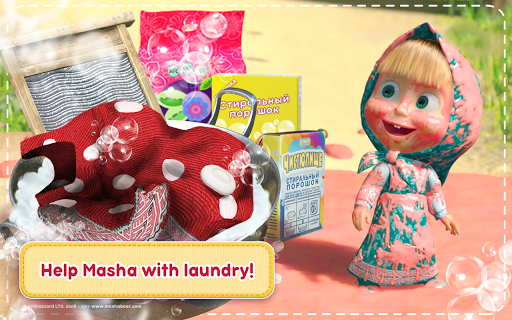 Masha and the Bear: House Cleaning Games for Girls screenshot 9